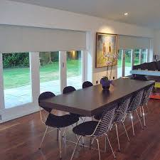 Blinds For Patio by Roller Shades On A Sliding Glass Door Indoor Home Decor