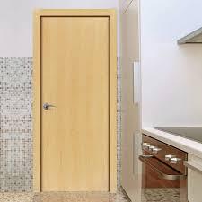 Interior Veneer Doors Flush Ash Veneer Door Pre Finished 1 2 Hour