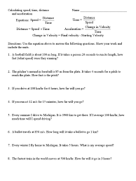 worksheets distance and displacement worksheet with answers