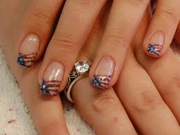 4th of july flags nail art archive style nails magazine