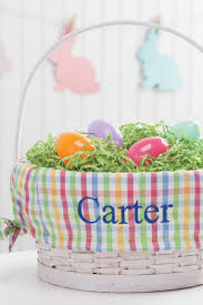 personalized easter baskets for toddlers 12 personalized easter baskets monogrammed easter basket ideas
