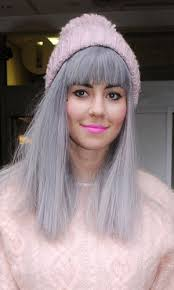 gray hair fad finding your first grey hair might send the fear of god into us