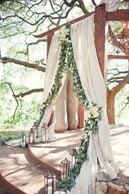 wedding arch no flowers 2017 wedding trends top 30 greenery wedding decoration ideas
