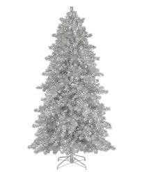 interior tree pics 9ft silver tree spinning
