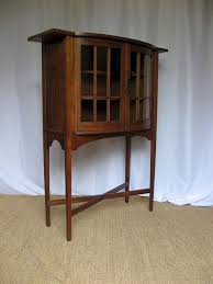 Arts And Crafts Furniture Designers Scottish Arts And Crafts Oak Display Cabinet Antiques Atlas