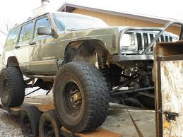jeep 2000 2000 jeep cherokee lifted w 44 u0027s and a trailer rock crawler