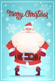 christmas posters merry christmas poster with santa claus winter by prostockstudio