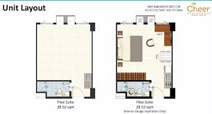 Typical Floor Plan Of A House by Cheer Residences Bulacan