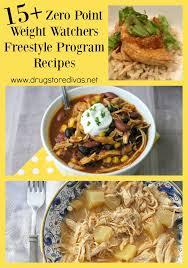 cuisine weight watchers 15 zero point weight watchers freestyle program recipes drugstore