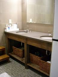 Floating Bathroom Vanities Bathroom Custom Vanities Built Vanity Handmade Floating Clark Wood