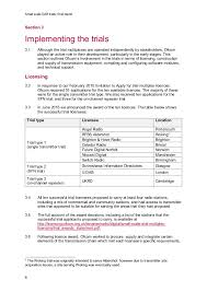 Example Of One Page Resume by Final Report Small Scale Dab Ofcom Uk