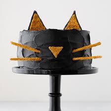 Halloween Cat Cake by Black Cat Cake