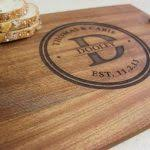 engraved serving tray engraved serving platter brianca designs
