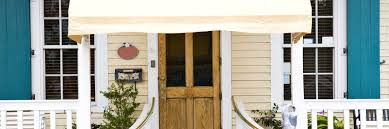 Awning Over Front Door How To Protect Wooden Front Doors From Sun Damage Superior Sun