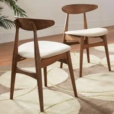 homesullivan judson scandinavian chestnut dining chair 40512n