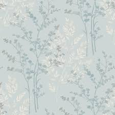 arthouse wallpaper fern motif teal at wilko com