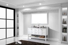 virtu ed 30060 wmsq wh winterfell double bathroom vanity cabinet