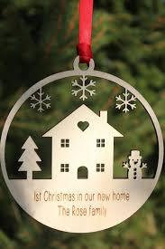 alphabet barn christmas new home personalised xmas decoration