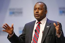 ben carson presidential bid gop candidate carson muslim shouldn t be elected president pbs