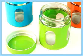 lime green kitchen canisters green canisters kitchen green orange glass canisters set of 3