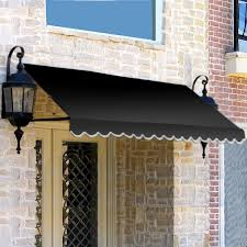 Wooden Window Awnings Amazon Com Awntech 3 Feet Dallas Retro Awning For Low Eaves 18