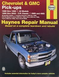 haynes repair manual for chevy pick up number 24065 automotive