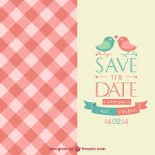 Save The Date Wedding Invitations Elegant Save The Date Invitation Free Vectors Ui Download