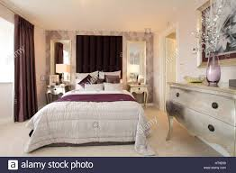 Schlafzimmer Dekoriert Padded Stockfotos U0026 Padded Bilder Alamy