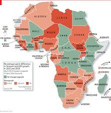 African Countries Map No Longer The Kiss Of Death