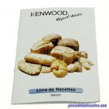 livre cuisine kenwood livre de recette rapid bake de kenwood machines à kenwood
