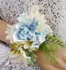 wedding flowers rustic handmade diy wrist corsage artificial flowers wedding flowers