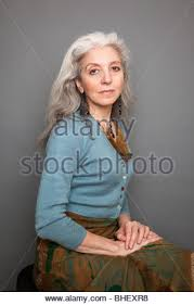 middle age women with blue hair portrait of italian middle age woman stock photo royalty free