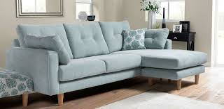 blue sofa bed duck egg blue corner sofa has matching arm chair dfs for