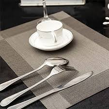 large plastic table mats techcodepvc insulation non slip insulation placemat washable table