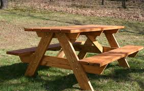 How To Build A Wooden Octagon Picnic Table by Table Picnic Table Bench With Back Plans Wonderful Picnic Table