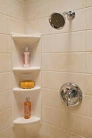 Corner Shelves Bathroom Freestanding Teak Corner Shower Shelf With Removable Soap Dish