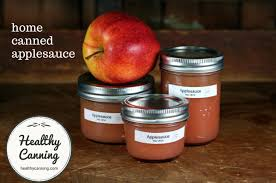 canning applesauce healthy canning
