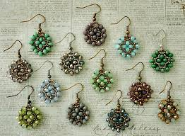 easy earrings s crafty inspirations tutorial nunzia s easy earrings