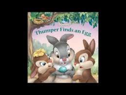 thumper finds egg disney bunnies