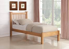 Oak Bed Frame Aston Solid American Oak Bed Frame