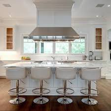 kitchen island stools with backs barrel back counter stools design ideas
