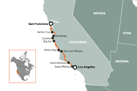 map usa la 8 ideas for an american road trip travel nation