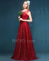 Buy Sleeveless Open Back Empire Glitter Formal Evening Dress