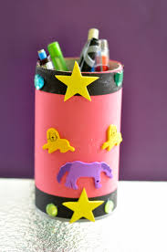 back to craft personalized pencil u0026 art supplies cup