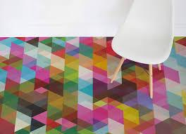 Retro Vinyl Sheet Flooring by Pop Geometric Atrafloor