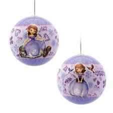 disney hallmark sofia the decoupage ornament
