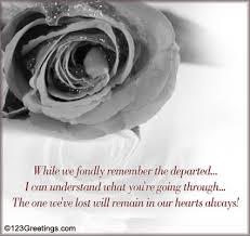 condolence cards a condolence card for your family free sympathy condolences