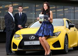 lexus used belfast lexus belfast revs up the style stakes at down royal lk