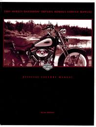 2001 harley davidson softail models service manual official