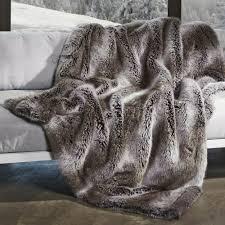 plaids fausse fourrure pour canapé plaid fourure plaid en fausse fourrure blanc 130 x 170 cm 102